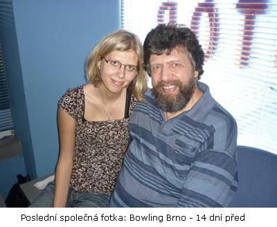 Iva Svozilová a Pavel Svozil - poslení fotka